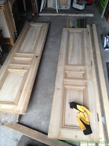 Armoire bois atelier passion du bois for Bati de porte en bois