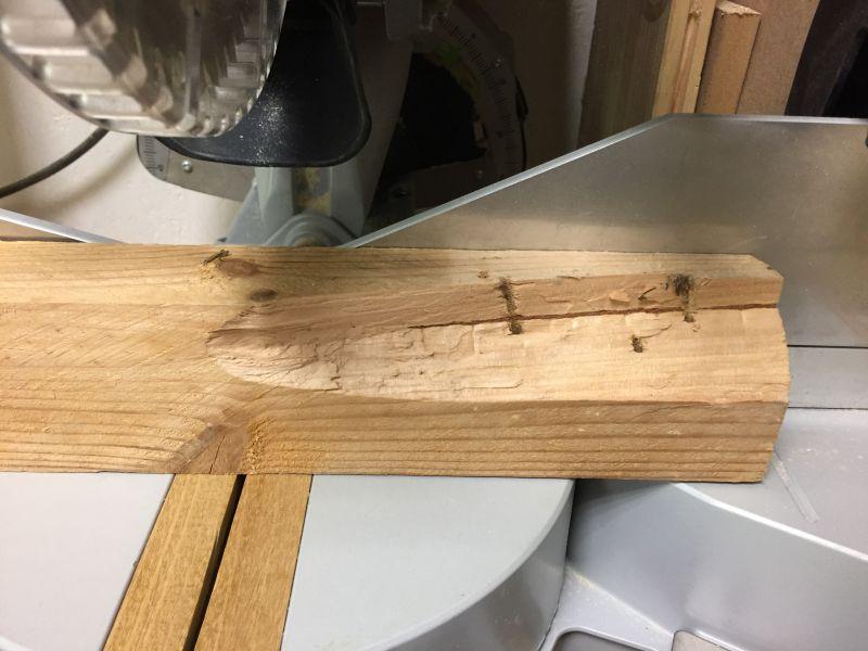 partie haute vaisselier bois palette