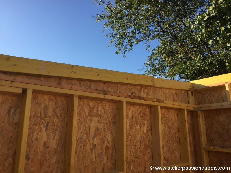 Construction Dun Atelier En Ossature Bois Et Son