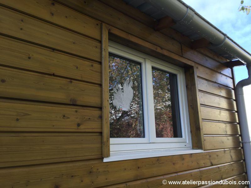 Construction atelier bois part6 atelier passion du bois for Encadrement de fenetre en bois