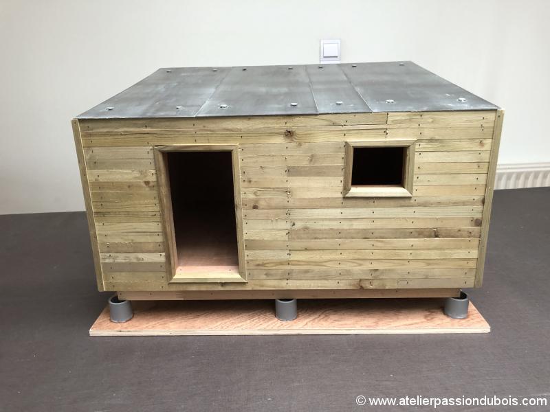 construction atelier en ossature bois