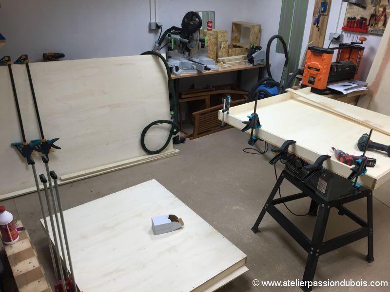 caisse transport bois atelier passiondubois. Black Bedroom Furniture Sets. Home Design Ideas