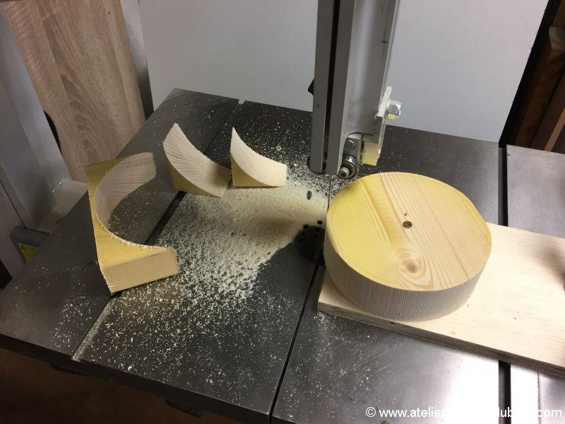 canon en bois