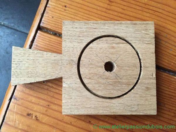 support bois saliere poivriere