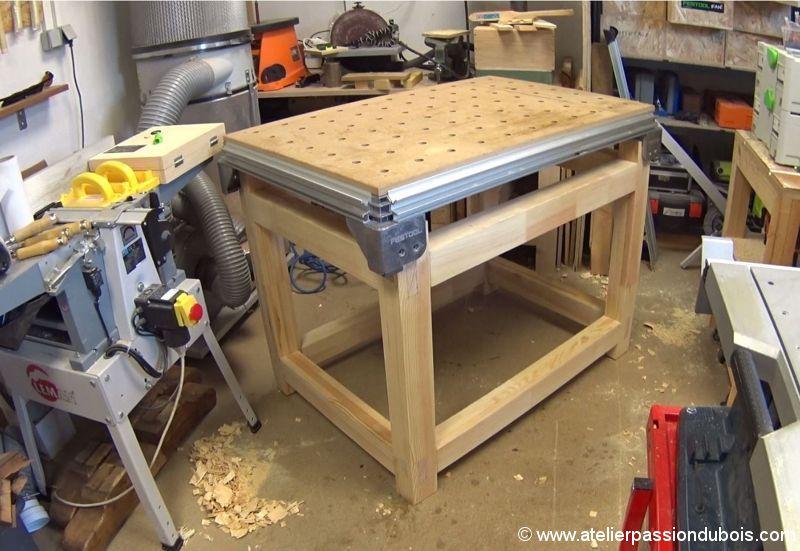 base bois etabli MFT