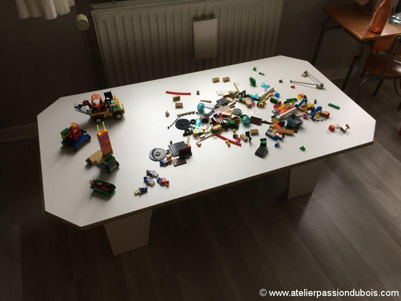 table jeux enfant melamine