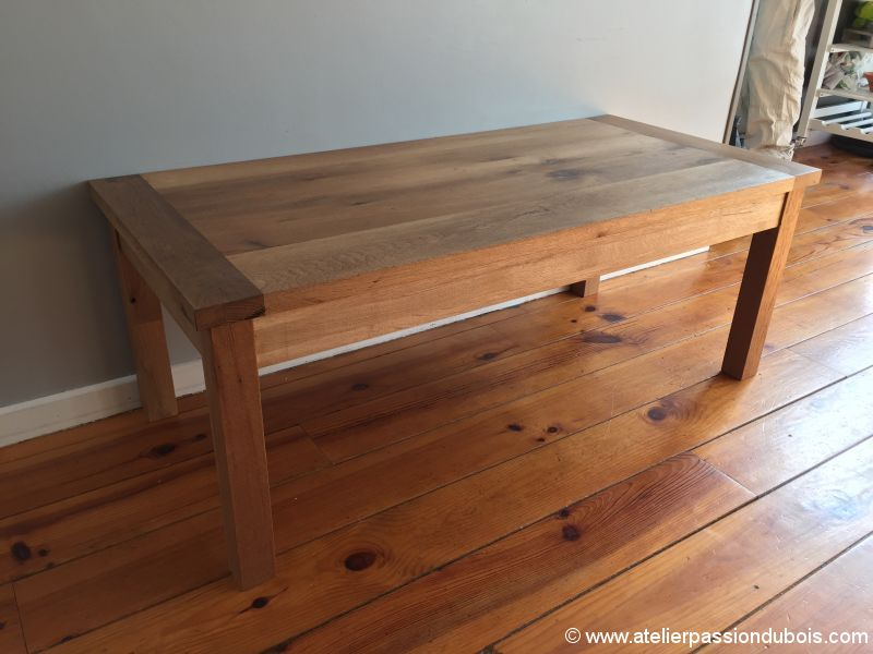 upcycling table chene