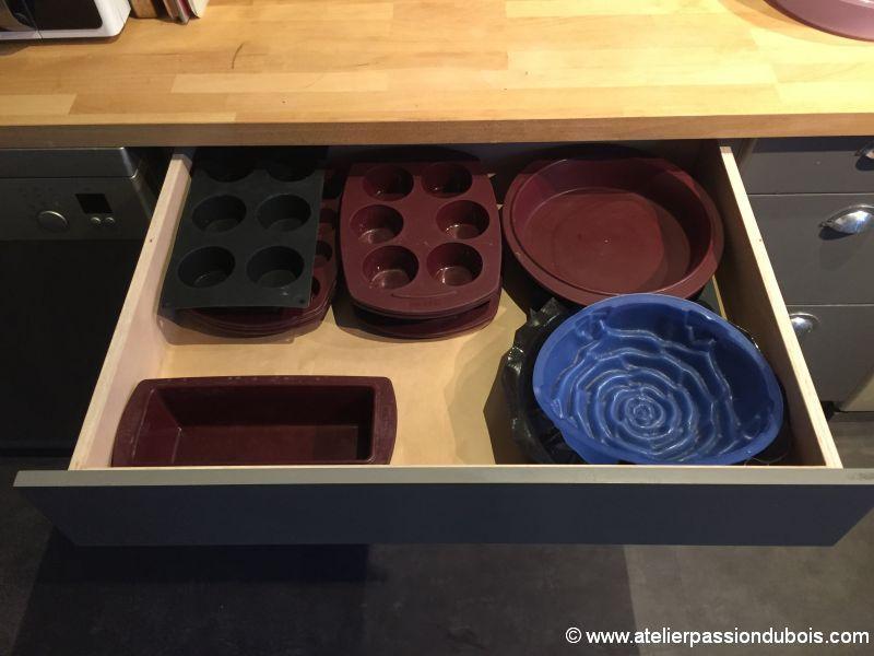 tiroir meuble cuisine diy