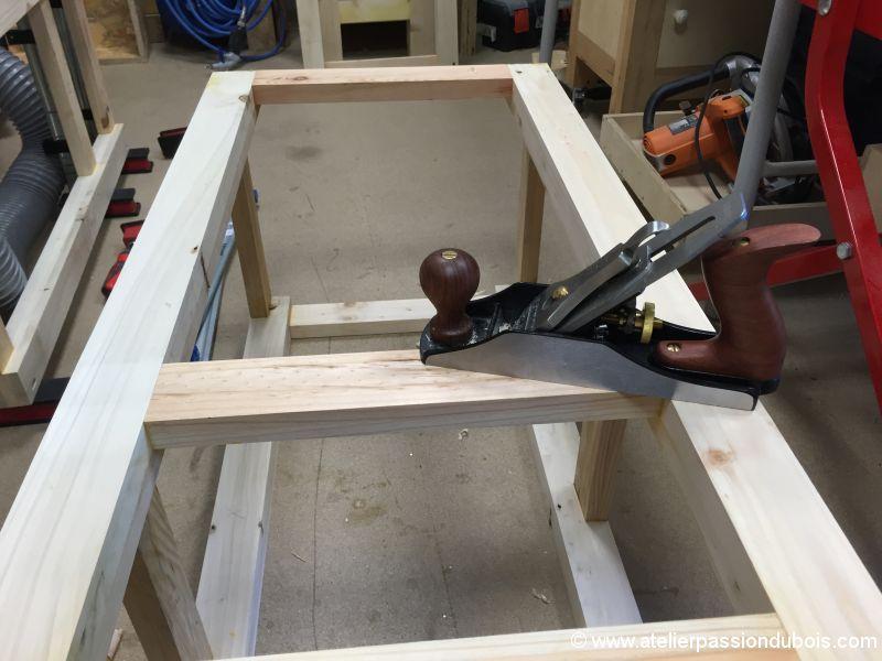 vaisselier bois palette structure