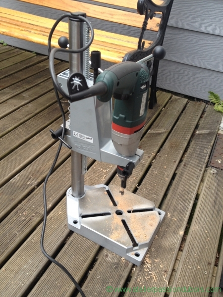 28 perceuse colonne wolfcraft metabo