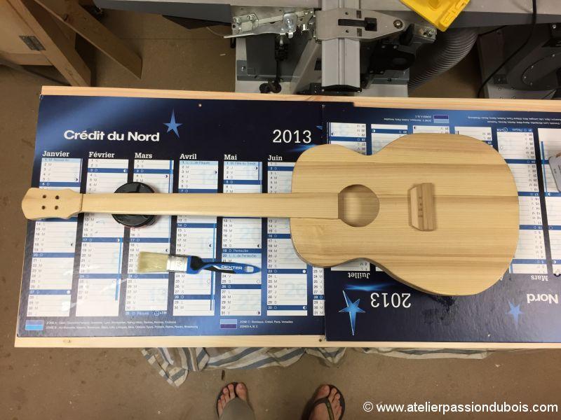 guitare bois DIY