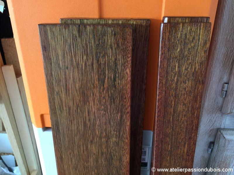 restauration banc bois jardin