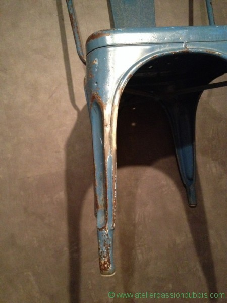 chaise bistrot metal