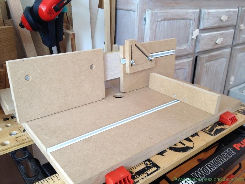 defonceuse sous table atelier passion du bois. Black Bedroom Furniture Sets. Home Design Ideas