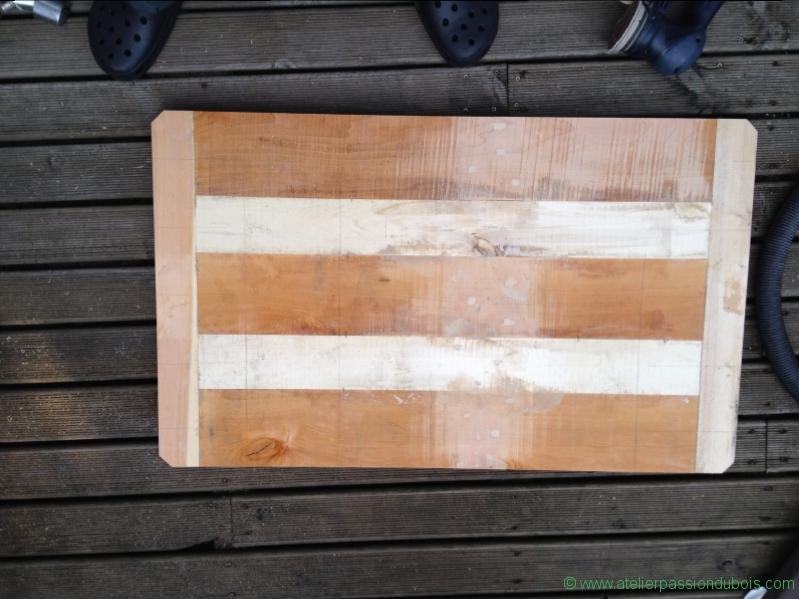10 bouchage des trous du bois