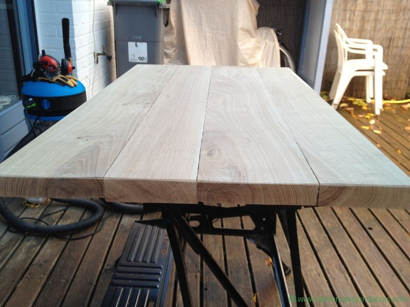 Table Basse Bois Metal - Atelier Passion Du Bois
