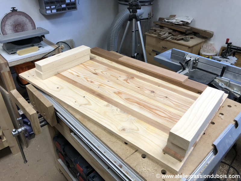 table basse bois palette exotique