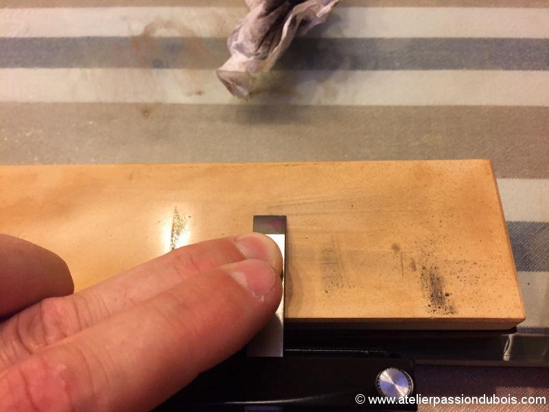 affutage ciseaux bois