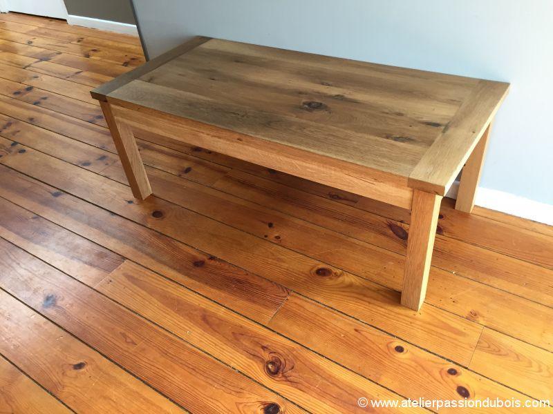 Upcycling table chene trasnformation d 39 une vieille table for Restauration d une table en bois
