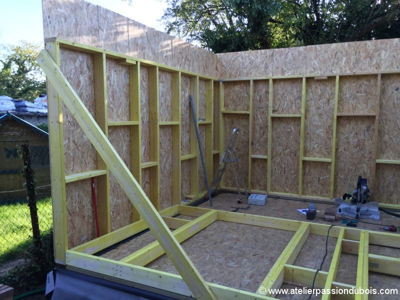 Construction atelier bois part4 atelier passion du bois Materiel construction maison