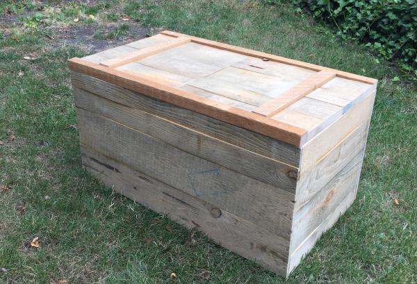 Réalisation d'un coffre en bois de palette - Atelier Passion du Bois